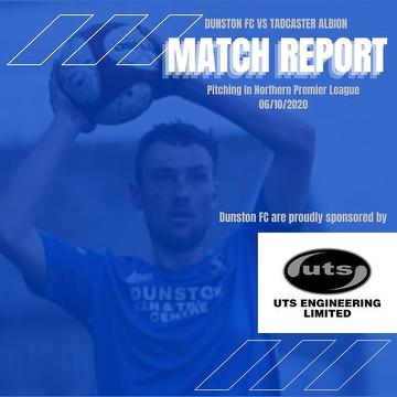 Match report banner Tadcaster home